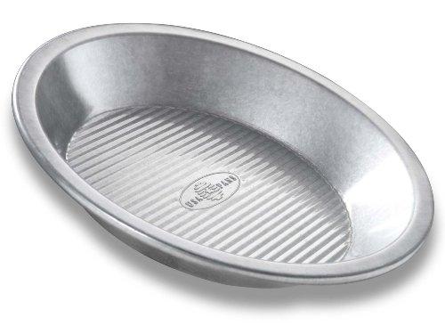 USA Pan Bakeware Aluminized Steel Pie Pan 9-Inch