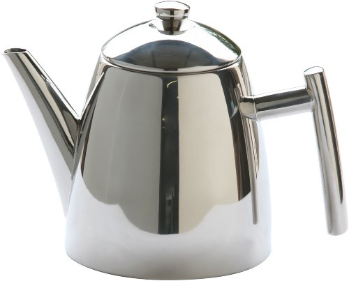 Frieling USA 1810 Stainless Steel Primo Teapot with Infuser 14-ounce