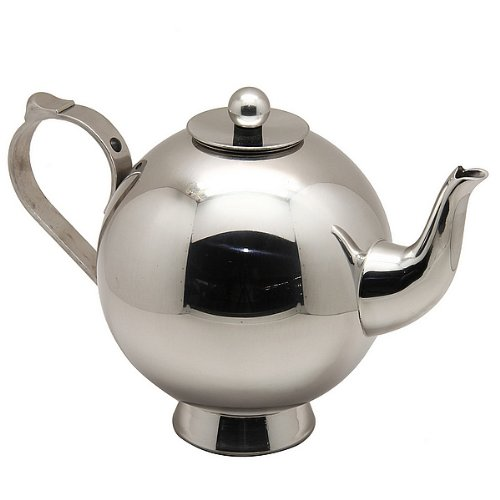1810 Stainless Steel Teapot with Strainer Filer Infuser Lid 05L17OZ K262