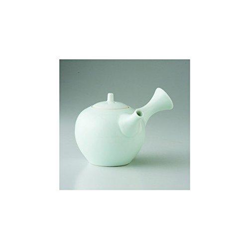 Japanese porcelain Hasami ware hakuji ceramic kyusu teapot J26-68431
