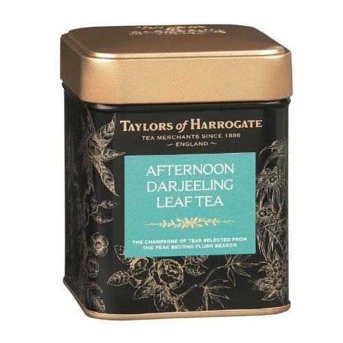 Taylors of Harrogate Afternoon Darjeeling Leaf Tea Caddy 125g