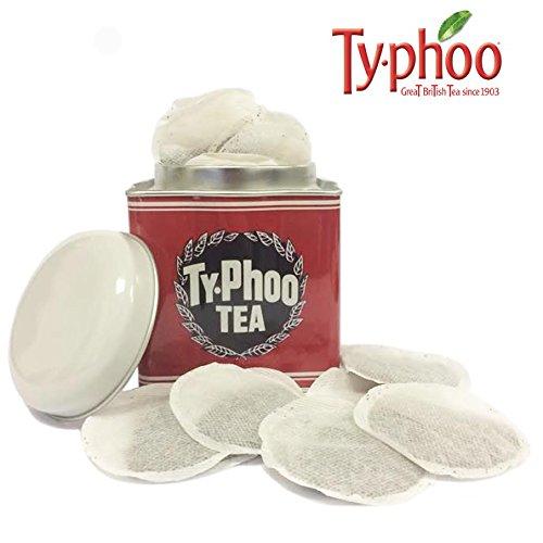 Typhoo Tea Caddy With 40 Original Tea Bags