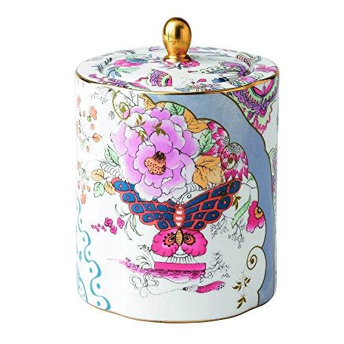 Wedgwood Harlequin Butterfly Bloom Ceramic Tea Caddy