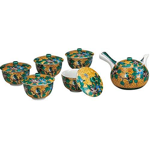 Japanese Tea Set Yoshidaya Kutani Yakiware