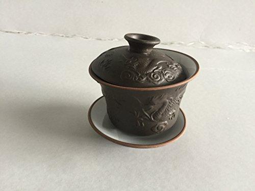 China Ceramic Tea-potGlass Gaiwan Kung Fu Tea Set gaiwan