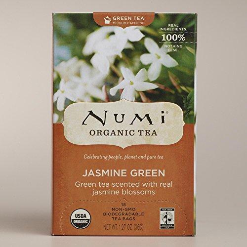 Numi Organic Jasmine Green Tea Set of 6 127 oz