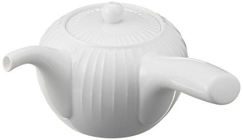 Hakusan pottery porcelain teapot stand muscle 390ml japan import