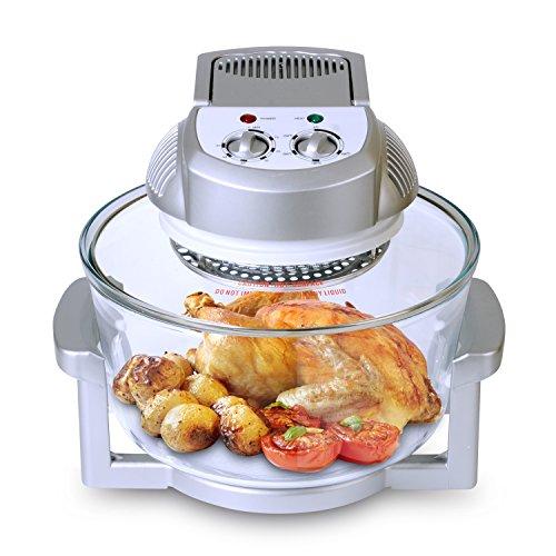Homeleader® Halogen Infrared Turbo Convection Ovens, Oil-less Fryer, 16-quart, Hlk43-001