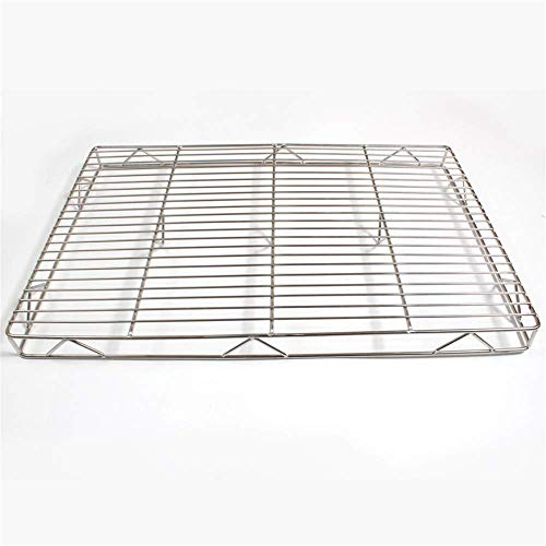 WXQ-XQ Barbecue Grilling BasketBold Mesh Rack Stainless Steel Plus High Baking Cake Cool Net Cooling Rack