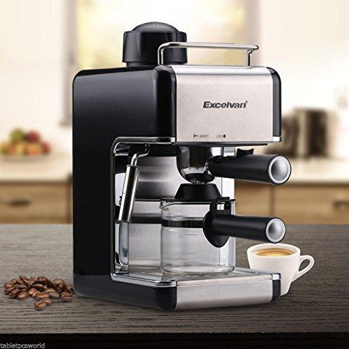 Gracelove Coffee Maker Machine Steam Filter Espresso Cappuccino Latte Maker