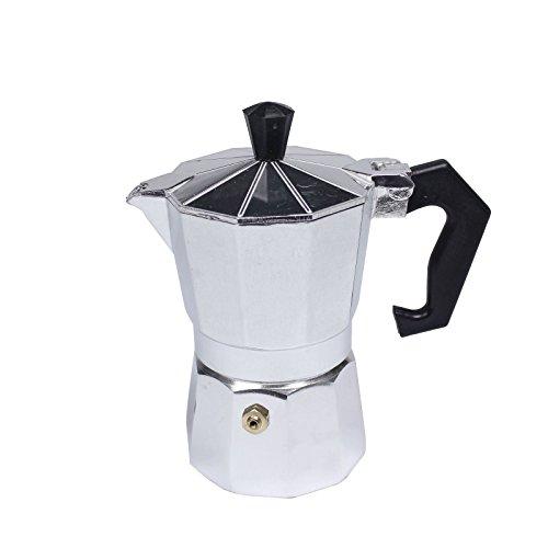 Stovetop Expresso Coffee Latte Maker Percolator Moka POT Gasket-1 Cup 50 ml