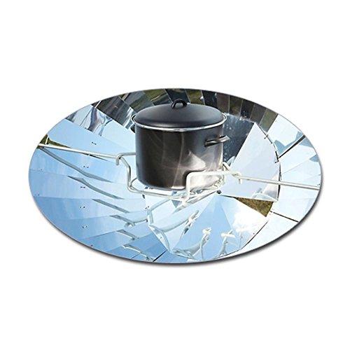 Cafepress Parabolic Solar Cooker - Sticker Oval - 3x5 White