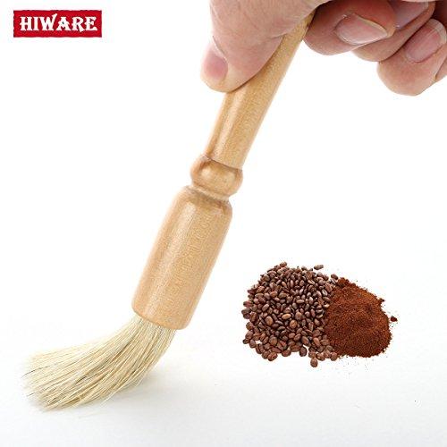 Hiware Coffee Grinder Brush - 75 Coffee Cleaning Brush Espresso Brush