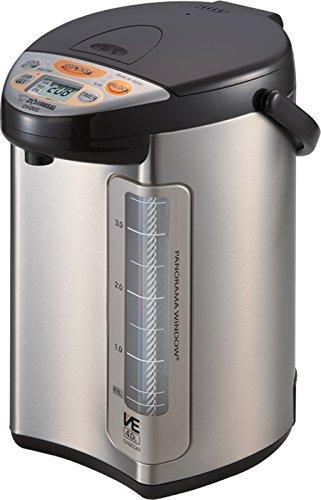 Zojirushi America Corporation Cv-dcc40xt Ve Hybrid Water Boiler And Warmer, 4-liter, Stainless Dark Brown