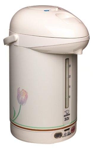 Zojirushi Micom 3.0-liter Electric Airpot Water Boiler, White