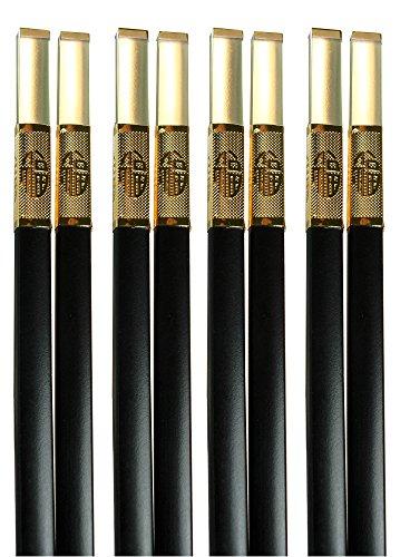 Amazing Grace Luxury Designer Chopsticks Gift Set Top Design Series S-4 Celestial Light Amber