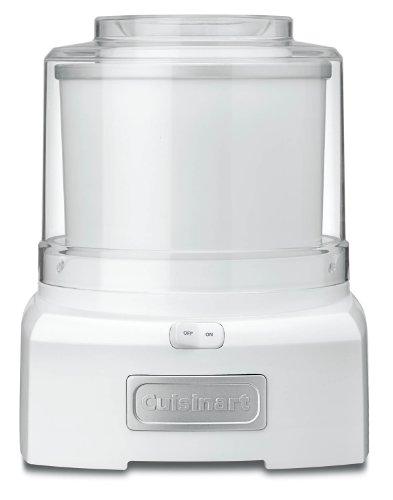 Conair Cuisinart Ice-21 1.5 Quart Frozen Yogurt-ice Cream Maker (white)