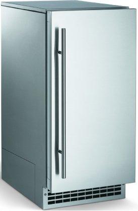 Scotsman Brilliance 60 Lb Nugget Ice Machine Door Finish: Stainless Steel, Drain Type: Pump