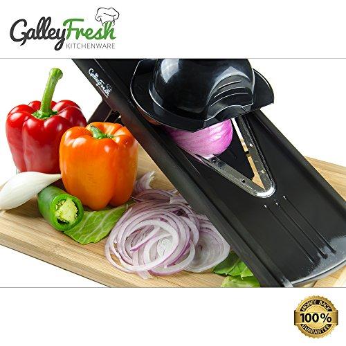 Galleyfresh Kitchenware 5-piece Professional V-slicer