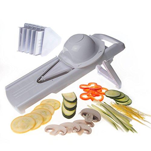 V-blade Mandoline Slicer For Vegetables & Fruits, Julienne Slicer