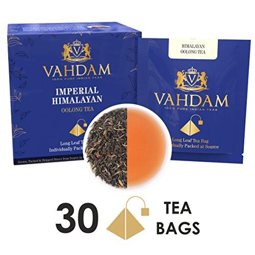 Himalayan Oolong Tea Leaves 15 Tea Bags PACK OF 2 Long Leaf Pyramid Oolong Tea Bags Oolong Tea for Weight Loss 100 Natural Oolong Tea Loose Leaf Detox Tea Slimming Tea Packed at Source