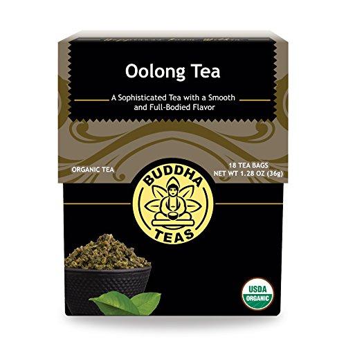 Organic Oolong Tea - Kosher Contains Caffeine GMO-Free - 18 Bleach-Free Tea Bags