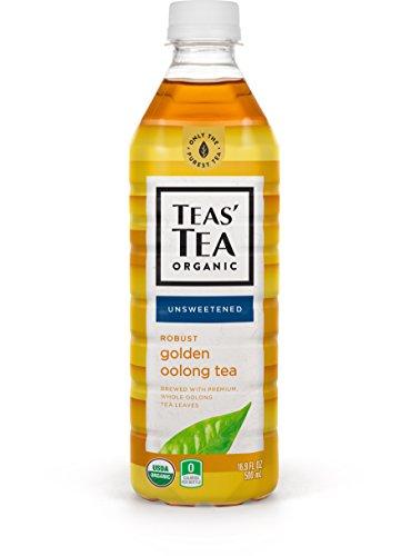 Teas Tea Unsweetened Golden Oolong Tea 169 Ounce Pack of 12 Organic Zero Calories No Sugars No Artificial Sweeteners Antioxidant Rich High in Vitamin C