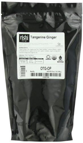 Rishi Tea Organic Tangerine Ginger 1-Pound