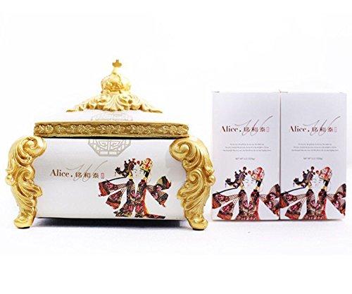 茉莉花茶 广西 jasmine flower tea from guangxi teabox
