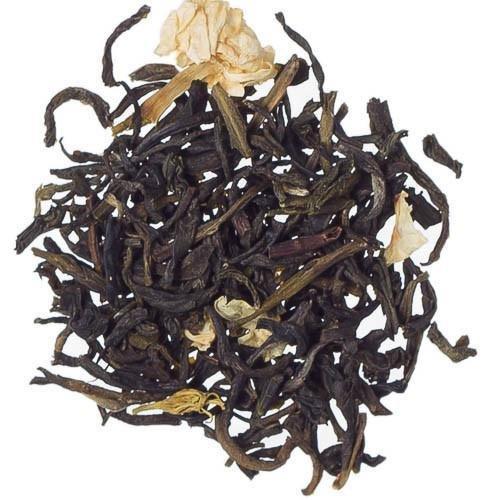 Jasmine Flower Tea 8 oz Bag of Loose Tea  Natural Green Tea - Victorian CafeNTea