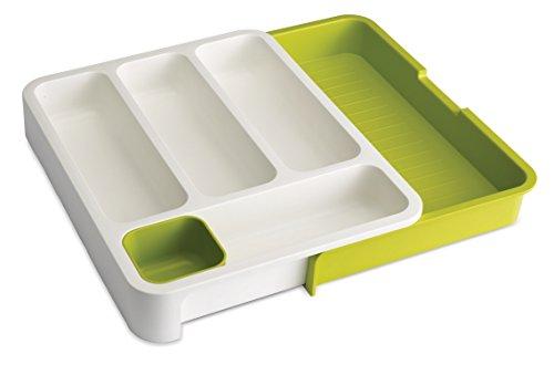 Joseph Joseph DrawerStore Expandable Cutlery Tray Green