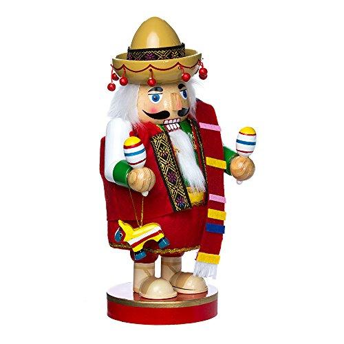 Kurt Adler 1025-Inch Mexican Nutcracker Tablepiece - Chubby Collection