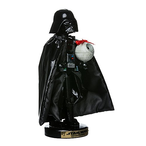 Kurt Adler Darth Vader with Death Star Nutcracker 10-Inch