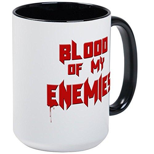 CafePress - Blood Of My Enemies Mugs - Coffee Mug Large 15 oz White Coffee Cup