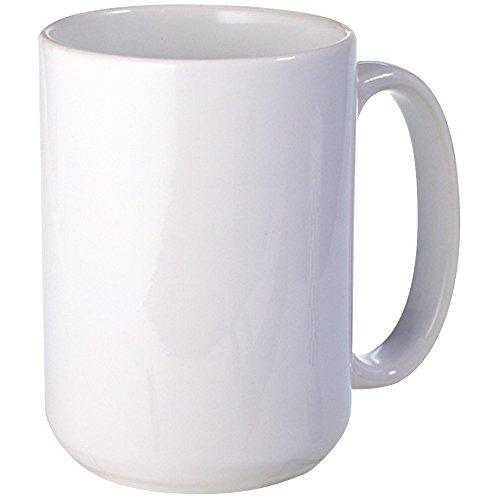 CafePress - Plain Blank Mugs - Coffee Mug Large 15 oz White Coffee Cup