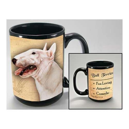 MY FAITHFUL FRIEND BULL TERRIER WHITE COFFEE CUP MUG PET GIFT