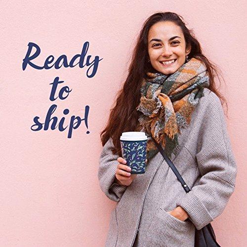 HANDMADE Cup sleeve Plant coffee Starbucks coffee cup cozy Coffee to go cup Reusable insulated sleeve