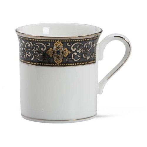 Lenox Vintage Jewel Platinum Banded Bone China Mug