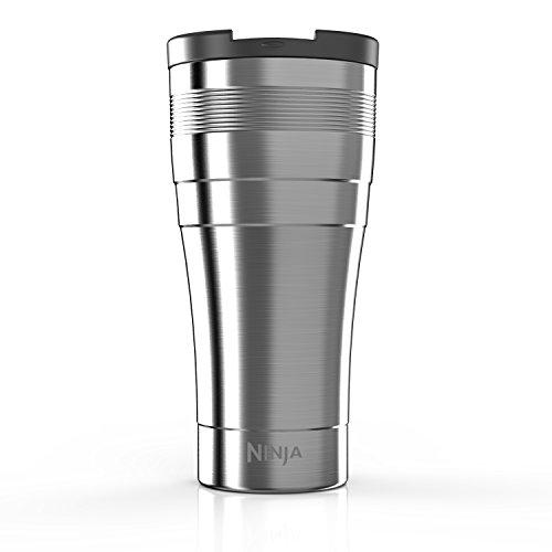 SharkNinja CFSSTM22W Ninja X-Large Thermal Multi-Serve Travel Mug 22 oz Stainless Steel