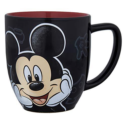 Disney Parks Mickey Mouse Portrait Face Ceramic Mug Cup NEW