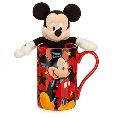 Disney Store Mickey Mouse Coffee Cup Mug Plush Toy Ceramic New 2014