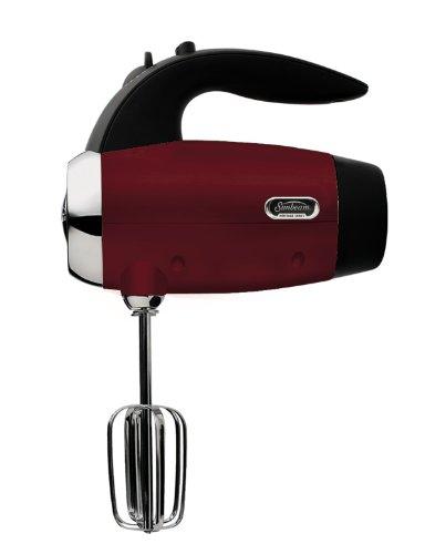 Sunbeam 2560 Heritage Series 6-Speed 250-Watt Hand Mixer, Red