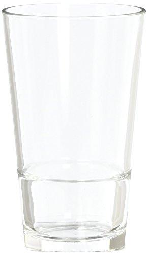 Cardinal H3089 Arcoroc Stack Up 16 Oz Cooler Glass - 12  CS