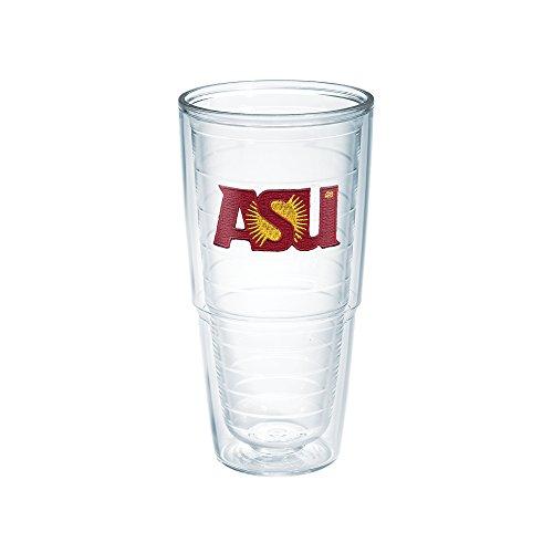 Tervis 1007078 Arizona State University Emblem Individual Tumbler 24 oz Clear