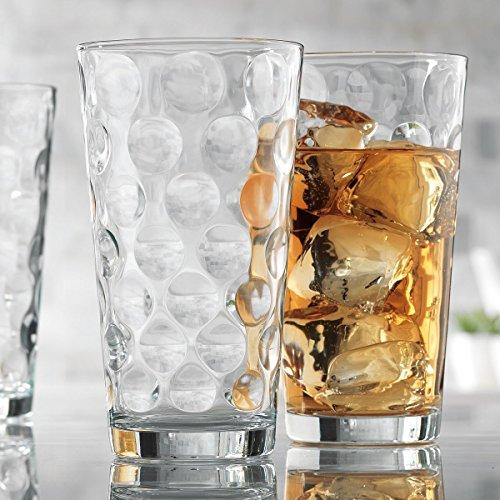 Set of 10 Durable Galaxy Drinking Glasses Includes 10 Cooler Glasses17oz 10-piece Elegant Glassware Set