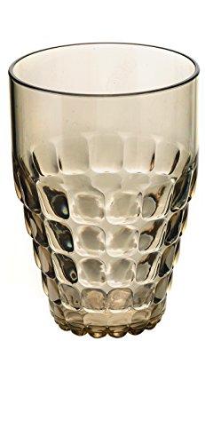 Guzzini Tiffany Collection Tall Tumbler 17-14-Fluid Ounces Sand