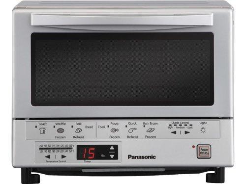 Panasonic Nb-g110p Flash Xpress Toaster Oven, Silver