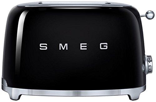 Smeg 2-slice Toaster-black