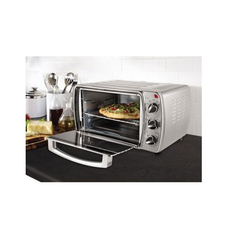 Oster Convection Counter Top Toaster Oven Stainless Steel Tssttvcg03