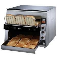 Star Mfg. High Volume Conveyor Bread Toaster W/ Reversible Chute